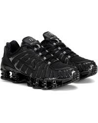Nike Black Shox Tl Trainers