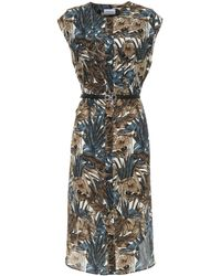 Ferragamo Printed Silk Dress - Multicolour