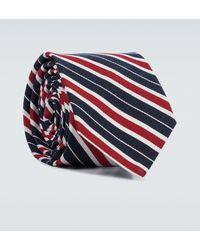 Thom Browne Cravatta in misto seta - Multicolore