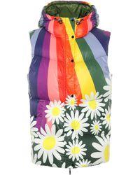 Moncler Genius 8 Moncler Richard Quinn Raquel Down Vest - Multicolour