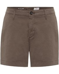 AG Jeans Shorts Caden in cotone stretch - Marrone
