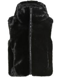 Fusalp Peggy Faux Fur Vest - Black