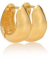 Sophie Buhai Hinged Hoops 18kt Gold-plated Earrings - Metallic