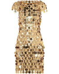 Paco Rabanne - Embellished Dress - Lyst