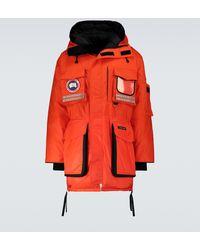 Canada Goose Parka de plumas Snow Mantra - Naranja