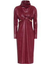 Stella McCartney - Willow Faux Leather Dress - Lyst