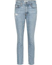 GRLFRND - High-Rise Skinny Jeans Karolina - Lyst