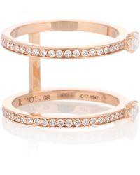 Repossi Harvest 18kt Rose Gold Diamond Ring - Pink