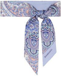 Zimmermann Exclusive To Mytheresa – Paisley Silk Headscarf - Purple