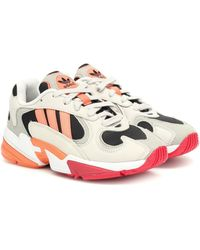 adidas Sneakers Yung-1 in mesh e pelle - Neutro