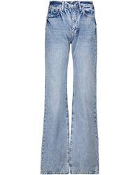 FRAME Jeans regular Le Jane a vita alta - Blu