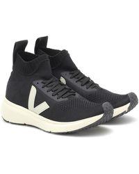 Rick Owens - X Veja Sock Runner Sneakers - Lyst