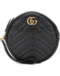 Gucci - Portefeuille GG Marmont en cuir - Lyst