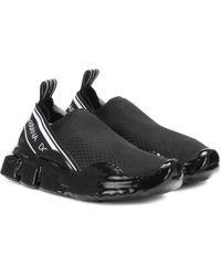 Dolce & Gabbana Sneakers Sorrento Melt - Schwarz