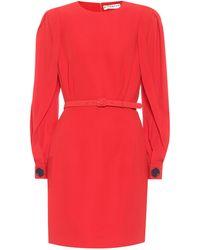 Givenchy Robe en crêpe - Rouge