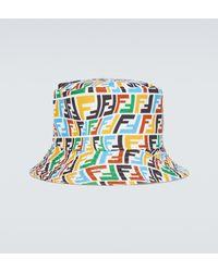 Fendi Reversible Bucket Hat - Multicolour