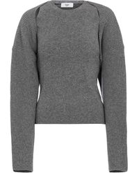 Frankie Shop Pullover aus Strick - Grau