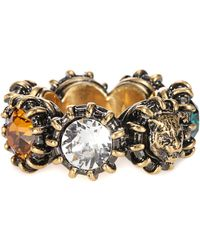 Gucci - Crystal-embellished Ring - Lyst