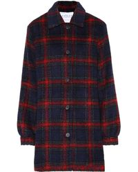 Velvet - Colette Plaid Jacket - Lyst