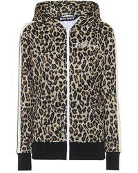 Palm Angels Leopard-print Track Jacket - Multicolour