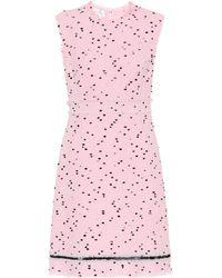 Giambattista Valli - Dotted Print Day Dress - Lyst