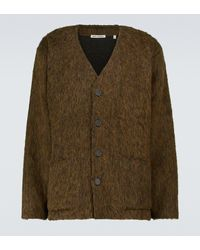 Our Legacy Mohair-blend Cardigan - Green