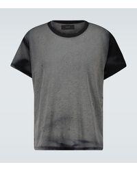 Amiri T-Shirt aus Baumwolle - Schwarz