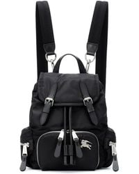 Burberry The Small Rucksack Backpack - Black