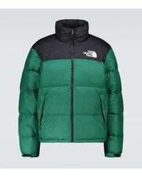 The North Face 1996 Nuptse - Giacca rétro verde