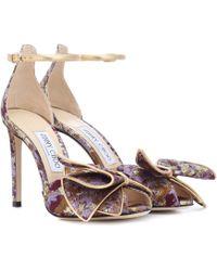 Jimmy Choo - Karlotta 100 Brocade Sandals - Lyst