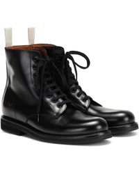 Common Projects Combat Boots - Black