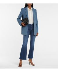 AG Jeans Low-rise Bootcut Jeans - Blue