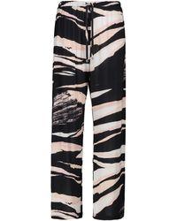 Max Mara Pantalon ample Egeria imprimé - Neutre