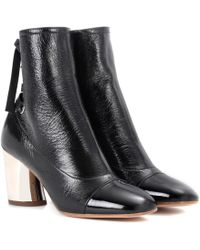 Proenza Schouler - Leather Ankle Boots - Lyst