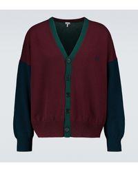 Loewe Cardigan en laine - Multicolore