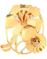 JW Anderson - Floral Daisy Crystal-embellished Earpiece - Lyst