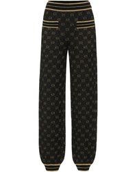 Gucci Jogginghose aus einem Wollgemisch - Schwarz