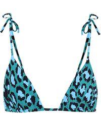 Diane von Furstenberg Bikini-Oberteil Avery - Blau