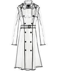 Dorothee Schumacher Trench-coat Transparent Veil - Noir