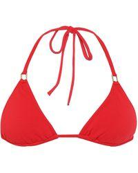 Melissa Odabash Top de bikini Cancun - Rojo