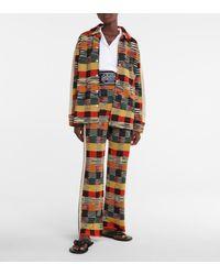 Palm Angels X Missoni – Chemise en laine mélangée - Multicolore
