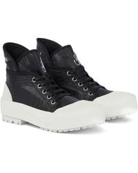 JW Anderson High-top Trainers - Black