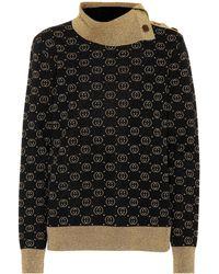 Gucci Pullover aus einem Wollgemisch - Schwarz