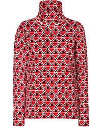 Moncler Genius 3 Moncler Grenoble Ski Top - Red