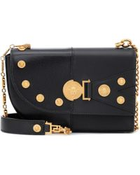 Versace - The Clash Medium Leather Shoulder Bag - Lyst