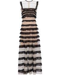 Costarellos Vestido de fiesta Ingrid de tul - Negro
