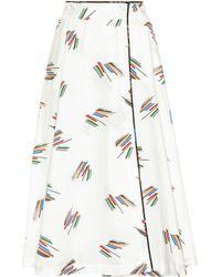 Gabriela Hearst - Nellie Cotton Skirt - Lyst