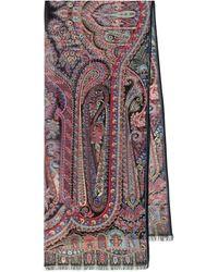 Etro Paisley Silk Scarf - Multicolor