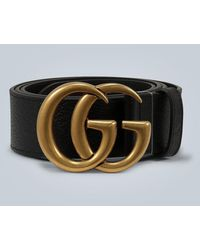 Gucci Double G buckle belt - Nero