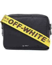 Off-White c/o Virgil Abloh Nylon Crossbody Bag - Black